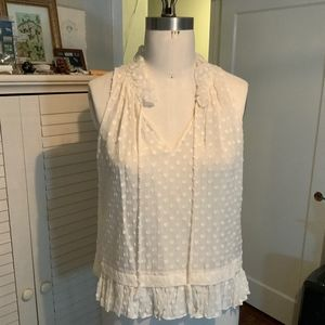 Rebecca Taylor polka dotted blouse